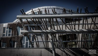 Photo of Scottish Parliament building by Norman Young