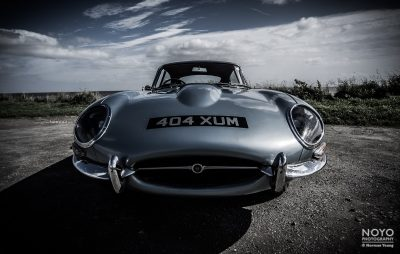 Photo of e-type Jaguar by Norman Young