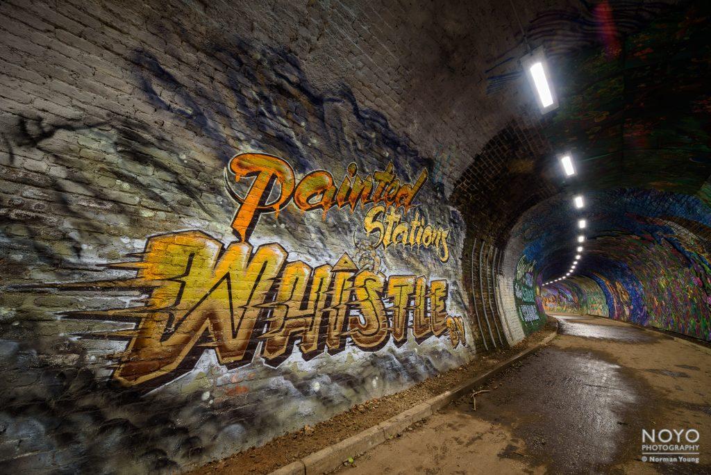 Photo of Colinton Tunnel art