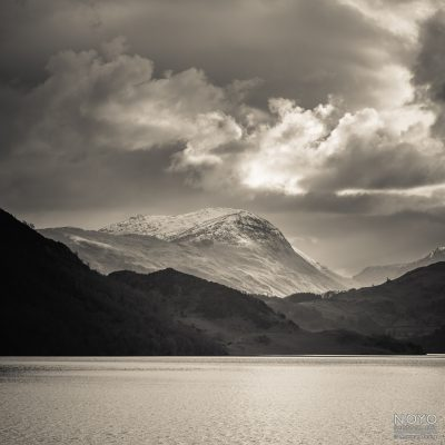 Monochrome Photograph of Ullswater by Norman Young